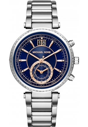 MICHAEL KORS  Sawyer Silver-Tone Watch
