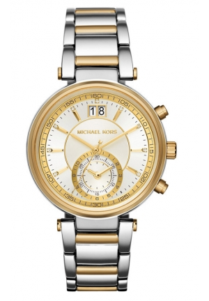 MICHAEL KORS Two-Tone Sawyer Watch 39mm