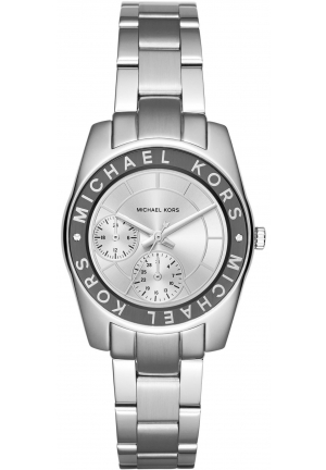 MICHAEL KORS Michael Kors Silver-Tone Ryland Watch 33mm