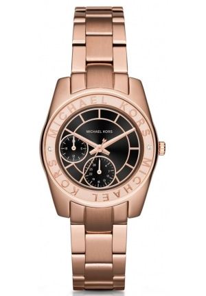MICHAEL KORS Michael Kors Rose Gold-Tone Ryland Watch 33mm