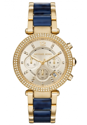 MICHAEL KORS Gold-Tone Parker Watch 39mm
