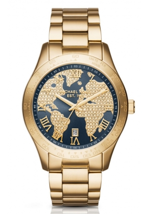 MICHAEL KORS Gold-Tone Layton Watch 43,5mm