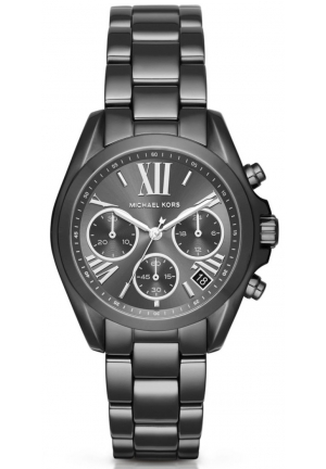 MICHAEL KORS  Mini Bradshaw Gunmetal-Tone Watch
