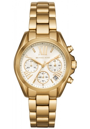 MICHAEL KORS Mini Bradshaw Gold-Tone Watch 36mm