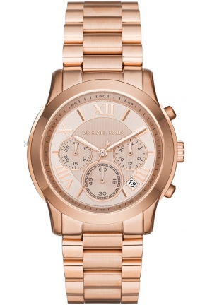 MICHAEL KORS Cooper Rose Gold-Tone Watch 39mm