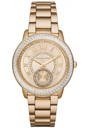 MICHAEL KORS  Madelyn Pavé Gold-Tone Watch