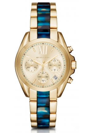 MICHAEL KORS  Bradshaw Gold-Tone And Acetate Watch