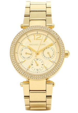 MICHAEL KORS Parker Gold Tone Women Watch