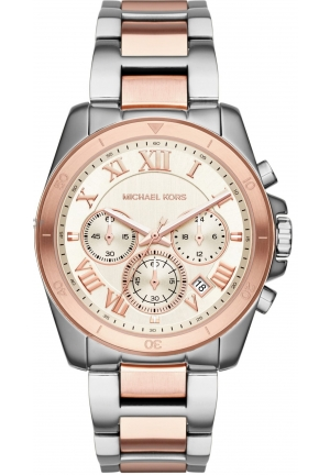 Michael Kors Brecken Two-Tone Chronograph Watch