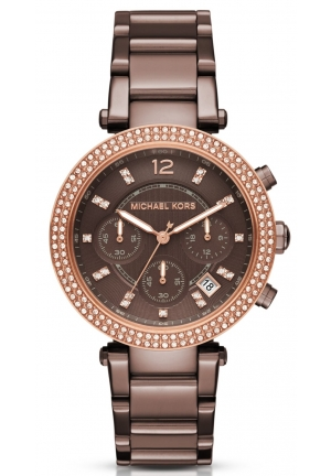 MICHAEL KORS  Parker Pavé Sable-Tone Watch