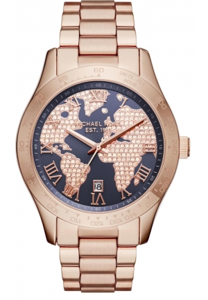 Layton Rose Gold-Tone Three-Hand Watch