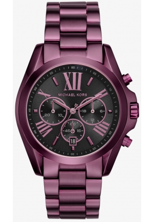 MICHAEL KORS  Bradshaw Plum-Tone Watch