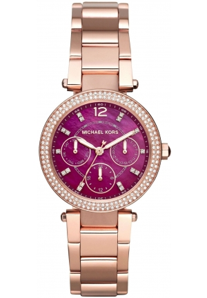 Mini Parker Rose Gold-Tone Three-Hand Watch