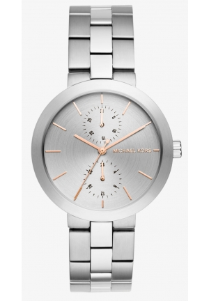 MICHAEL KORS  Garner Silver-Tone Watch