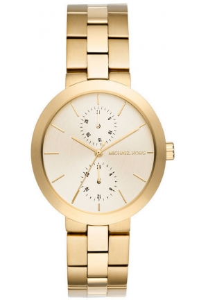 Garner Gold-Tone Multifunction Watch