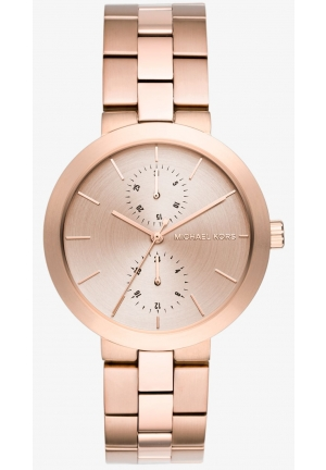 MICHAEL KORS  Garner Rose Gold-Tone Watch