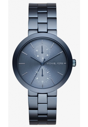 MICHAEL KORS  Garner Navy-Tone Watch