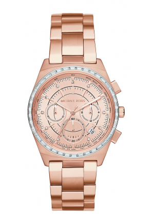 VAIL ROSE GOLD-TONE WATCH 38MM