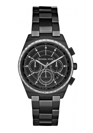 Vail Black-Tone Watch 38mm