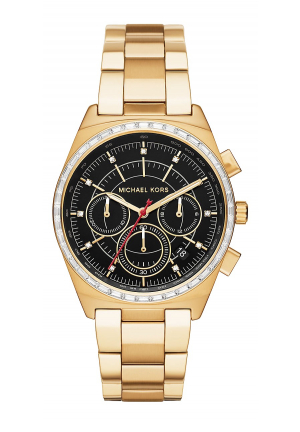 VAIL GOLD-TONE WATCH 38MM