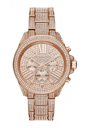 Wren Pavé Rose Gold-Tone Watch 41.5MM