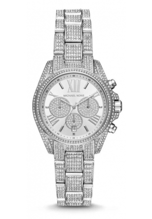 BRADSHAW CHRONOGRAPH WATCH SILVER CRYSTAL 36MM