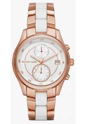 MICHAEL KORS  Briar Rose Gold-Tone Watch