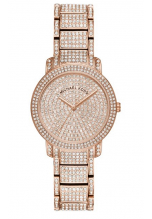 MICHAEL KORS PAVÉ GLITZ WATCH , 33MM