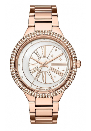 MICHAEL KORS WOMEN'S TARYN ROSE GOLD-TONE MK6551, 40MM