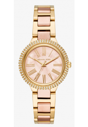 MICHAEL KORS Mini Taryn Pavé Two-Tone Watch