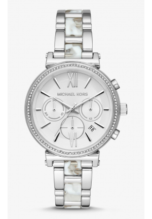 MICHAEL KORS SOFIE PAVÉ ACETATE, 39MM