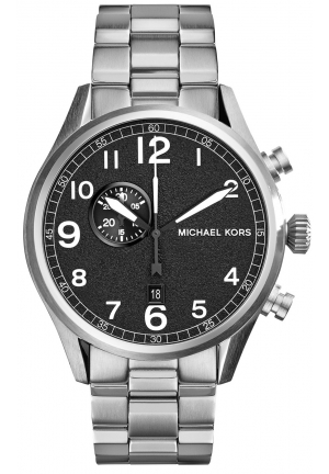 Hangar Silver-Tone Watch 45mm