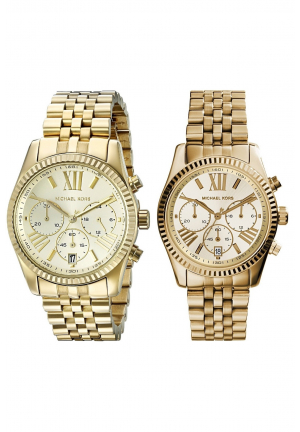 Michael Kors Lexington Couple Gold Tone