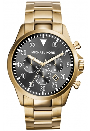 Michael Kors Men's Chronograph  Bracelet Watch 45mm