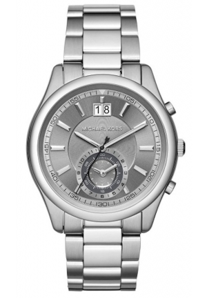 MICHAEL KORS Aiden Chronograph Stainless Steel Watch 43mm