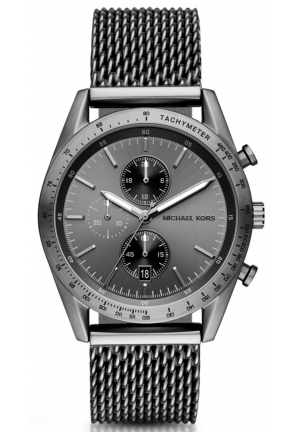 MICHAEL KORS Accelerator Gunmetal Watch 42mm