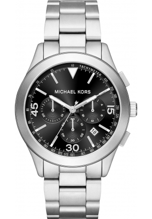 MICHAEL KORS GARETH BLACK DIAL CHRONOGRAPH MEN'S WATCH