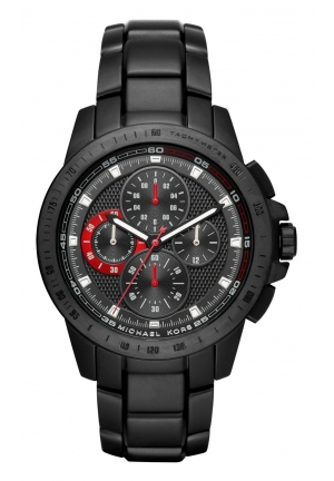 Michael Kors Ryker Black Dial Men's Chronograph Watch