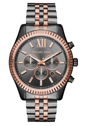 MICHAEL KORS  Lexington Two-Tone Watch 45mm