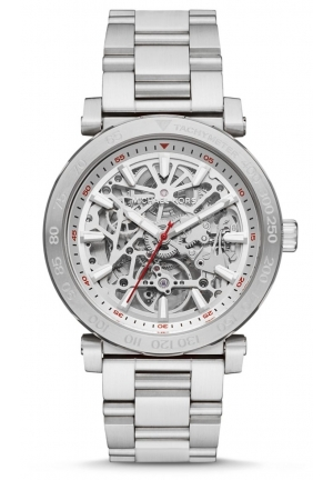 Michael Kors Mens Halo Silver-Tone Watch