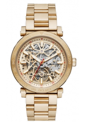 Halo Skeleton Dial Automatic Men's Watch