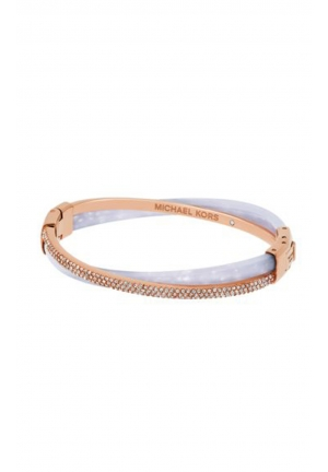 PAVÉ ROSE GOLD-TONE WISTERIA BANGLE