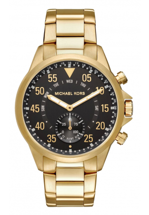 MICHAEL KORS ACCESS Gage Gold-Tone Hybrid Smartwatch