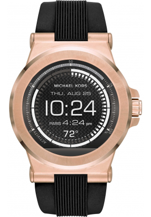 Michael Kors Access Dylan Silicone Smartwatch