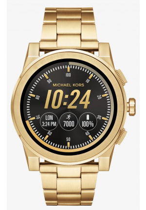 MICHAEL KORS ACCESS Grayson Gold-Tone Smartwatch