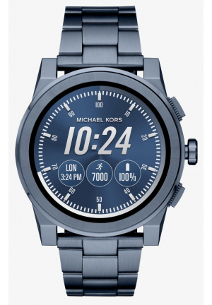 MICHAEL KORS ACCESS Grayson Navy-Tone Smartwatch