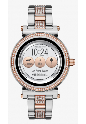 MICHAEL KORS ACCESS Sofie Pavé Two-Tone Smartwatch