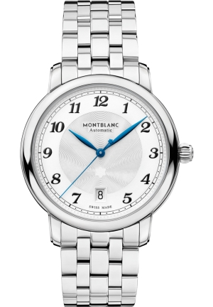 Montblanc Star Legacy Automatic Silver Dial Men's Watch 117323