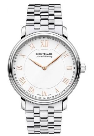 Montblanc Tradition Hand Wind White Dial Men's Watch 119963