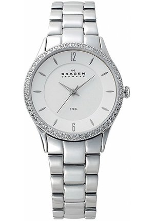 Mother of Pearl Dial Stainless Steel Ladies Watch 30mm